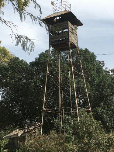 Tower in disrepair