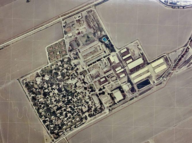 Kibbutz aerial view-2015