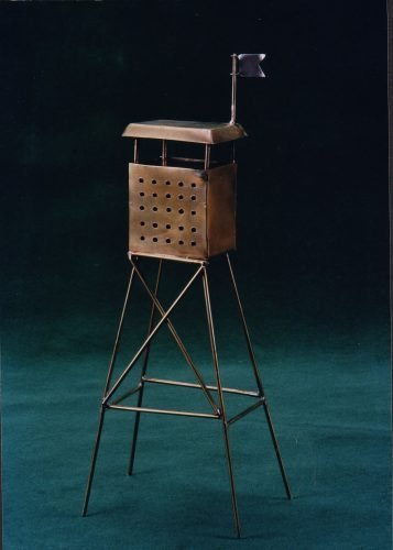 Migdal Spice tower-1998 brass sheet and wire 33x13x8cm