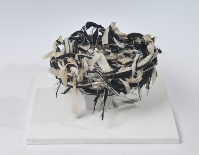 Empty Nest -2015-Tallit-Prayer Shawl-25cmx25cmx20