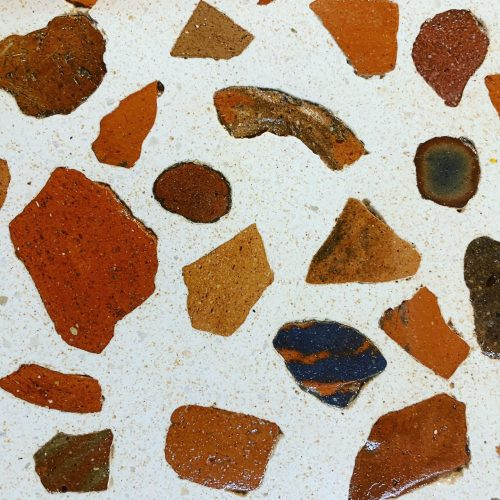 Terrazo Tiles From Shards